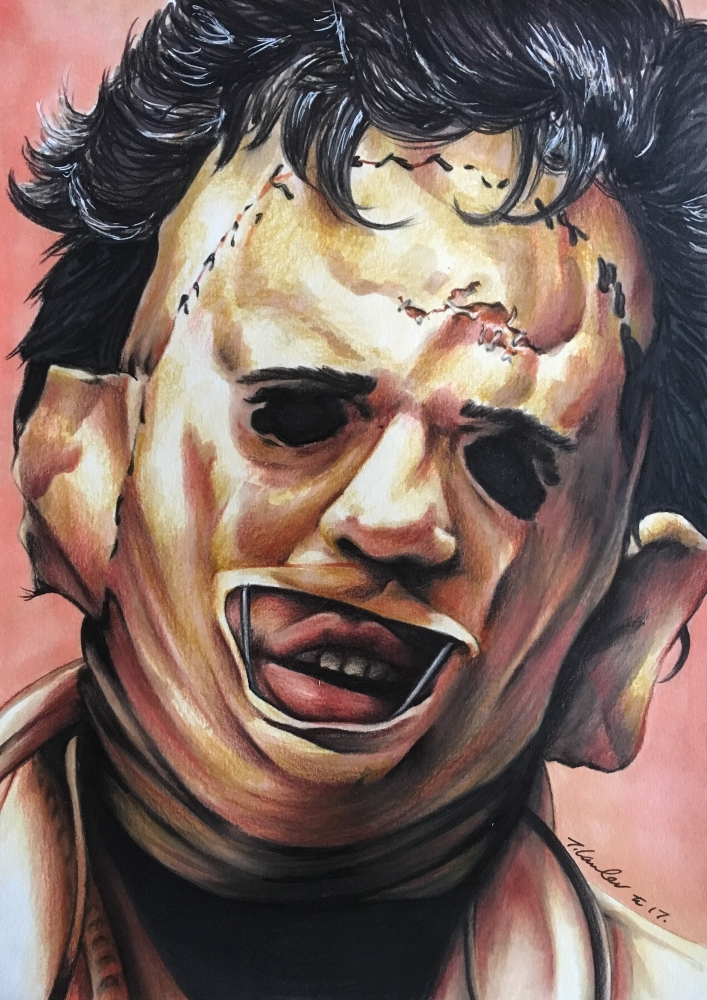 Leatherface by TraceyLawler